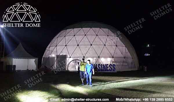 Geodome - Geodesic Dome - Geodesic Dome Tent for Sale - Large Dome - Event Dome - Half Clear Dome - Dome Construction - 15-20m Dome - Shelter Dome (9)