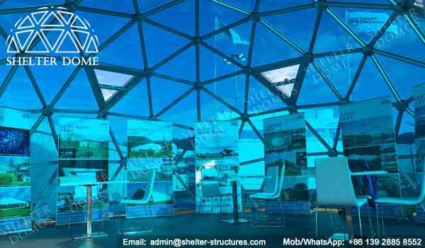 Sphere Tent - Geodesic Dome - Glass Dome Tent - Polycarbonate Dome - Portable Domes - Glass Igloo - Sphere Tent - Glass Domes for Sale - Shelter Dome (39)