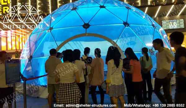 Dome Shelter - Geodesic Dome - Geodesic Dome Tent for Sale - Dome Event Tent - Dome for Light Festival - Transparent Dome Tent - Clear Dome Tent - 10m Dome - Shelter Dome (1)