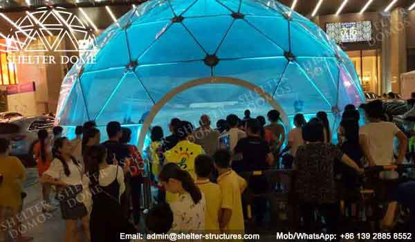 Dome Shelter - Geodesic Dome - Geodesic Dome Tent for Sale - Dome Event Tent - Dome for Light Festival - Transparent Dome Tent - Clear Dome Tent - 10m Dome - Shelter Dome (4)