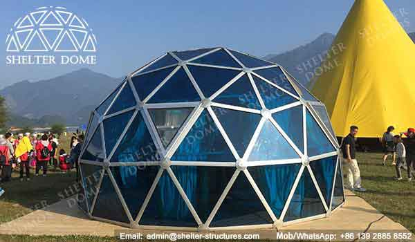 Dia 6m Dome House For Camping Festival Event Dome