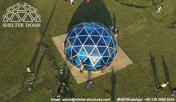 Dome House - Geodesic Dome - Glass Dome Tent - Polycarbonate Dome - Portable Domes - Glass Igloo - Sphere Tent - Polycarbonate Greenhouse - Glass Domes for Sale - Shelter Dome (2)