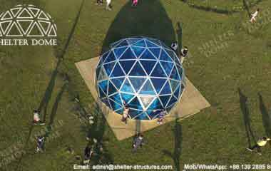 Geodesic Dome - Glass Dome Tent - Polycarbonate Dome - Portable Domes - Glass Igloo - Sphere Tent - Polycarbonate Greenhouse - Glass Domes for Sale - Shelter Dome (2)