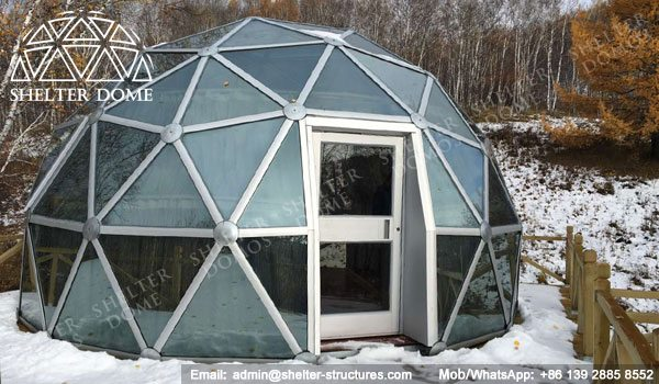 Portable Dome Structures : Igloo dome m glamping structure for sale shelter