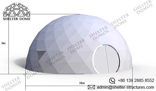 Event Domes - 10m Geodesic Domes for Events - Shelter Dome