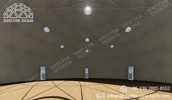 Event Domes - 15m Geodesic Domes for Events - Shelter Dome