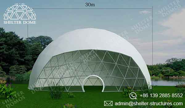 Event Domes - 30m Geodesic Domes for Events - Shelter Dome