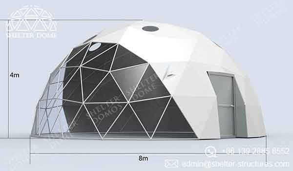 Event Domes - 8m Geodesic Domes for Events - Shelter Dome 1