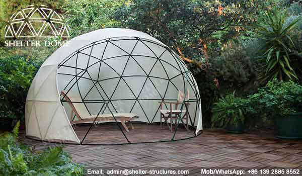 Geodesic garden dome garden igloo data shelter dome for Igloo de jardin