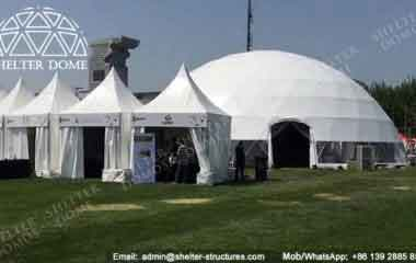 Dome Shade Structure - 20m Event Dome - Geodesic Dome for Events - Large Dome Tent - Geodesic Domes for Sale - Custom Dome - Shelter Dome (1)