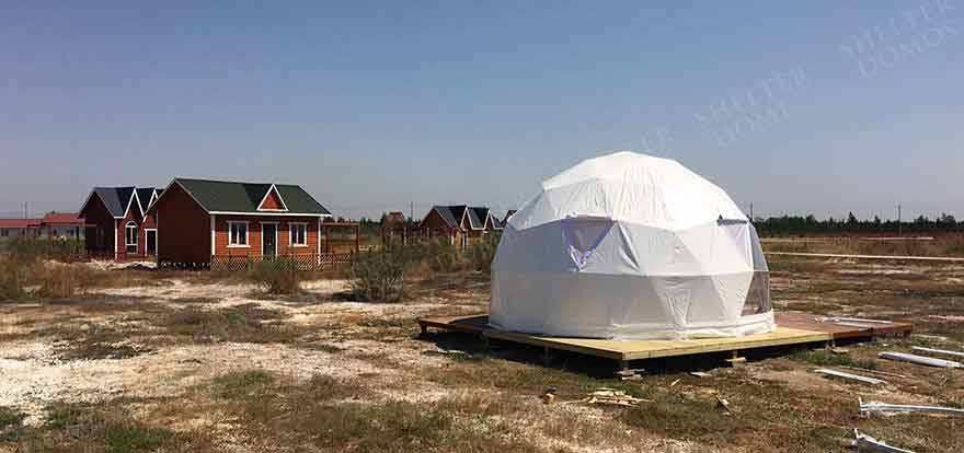 Emergency Shelter Domes - Relief Domes - Portable Shelter - Shelter Dome
