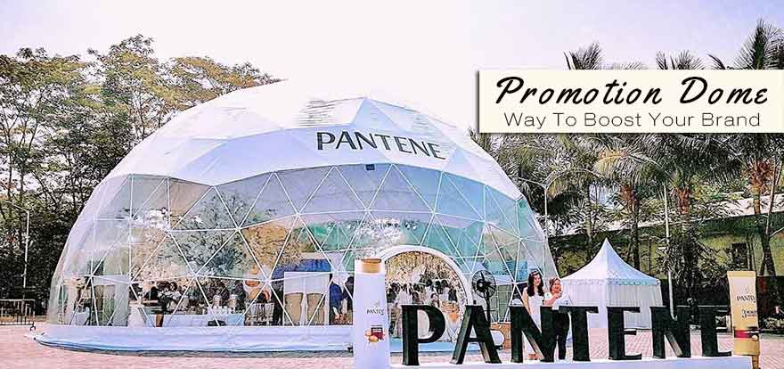 Boost Your Brand with Promotion Geodesic Dome Tent - Shelter Dome
