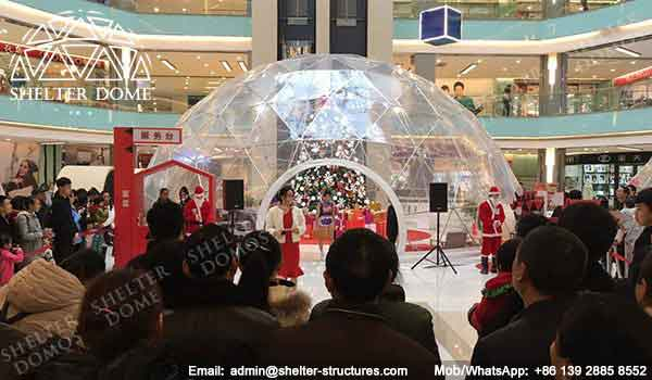 Geodesic Dome Sale for Christmas and New Year Event - Geodesic Dome - Geodesic Dome Tent for Sale - Dome Frame - Fabric Dome Structures - Party Dome - Clear Dome Tent - Transparent Dome Tent - 5m Dome - Shelter Dome (4)