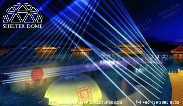 Immersive Entertainment Dome - 30m Geodome Tent Structure for Projection Show - Projection Dome for Sale - Shelter Dome (4)