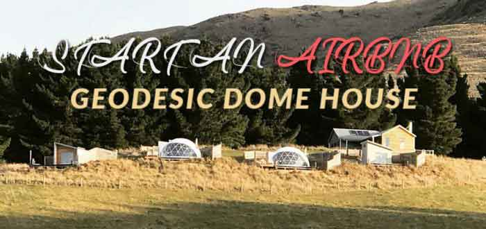 start an airbnb by geodesic dome tent - glamping geodome house for sale