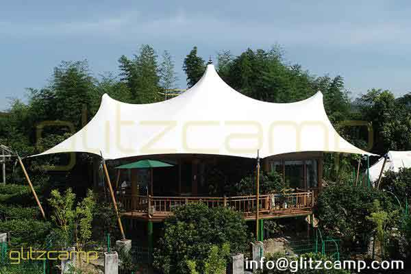 multi peaks lodge tent for sale-luxury lodge glamping in jungle resort-deluxe outdoor accommodation in glamping lodges-glitzcamp (3)