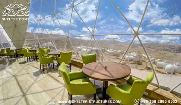 Geodesic Domes Tents For Glamping In Desert Forest Prairie Campsite Dome Shelter