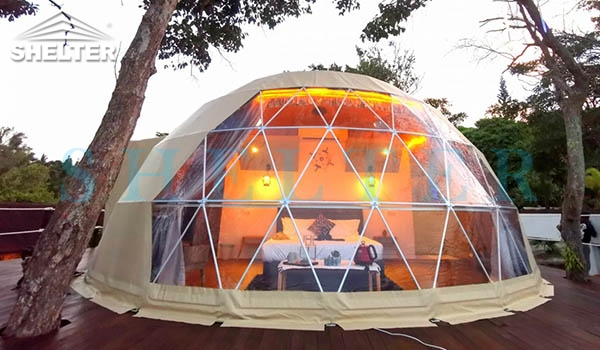 Dia.7m Beach Dome Tent- Malaysia-Eco-living Domes-Dwell Domes-3