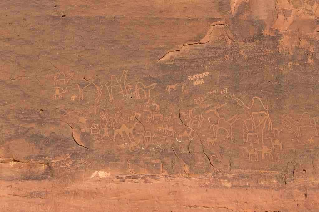 Anfishiyyeh Inscriptions, Wadi Rum-Photo by Bianca Abma_Jc