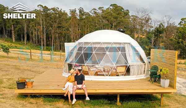 igloo dome tents-glamping dome-dwell dome-geodesic dome tent-shelter dome-shelter domos-australia