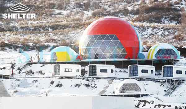360 projection dome tent-projection dome theater-event dome-shelter dome-shelter domos (1)