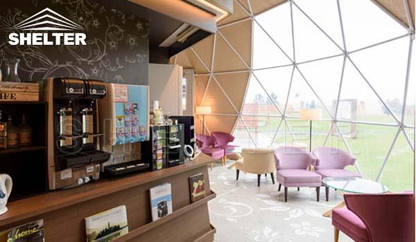 10m dome restaurant-cafe igloo-cafe dome-dining dome-2