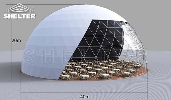 40m dome restaurant-cafe igloo-cafe dome-dining dome-1_Jc