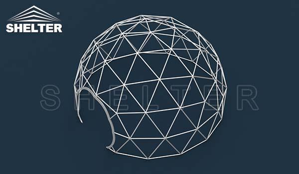 clear dome tent-dome restaurant-cafe igloo-cafe dome-dining dome-Shelter Dome-1_Jc