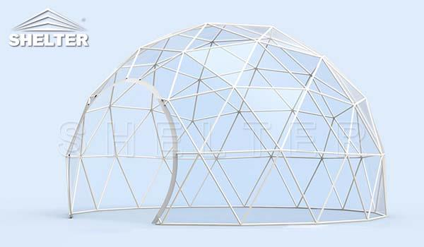 clear dome tent-dome restaurant-cafe igloo-cafe dome-dining dome-Shelter Dome_Jc