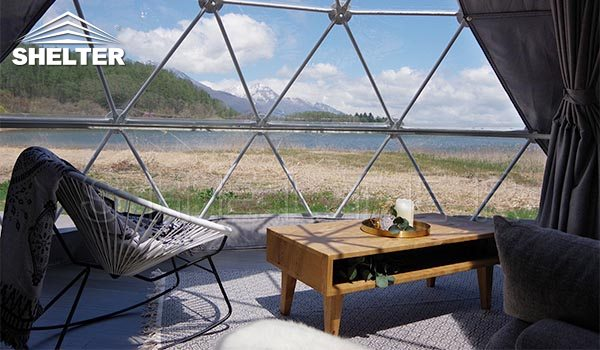 geodesic dome-glamping dome-dome tent-geodome-geodesic dome home-Shelter Dome (7)