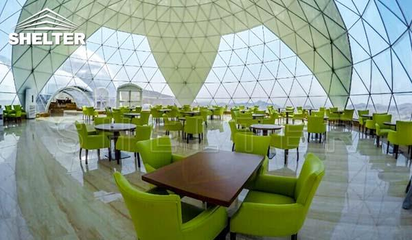 large dining dome-dome restaurant-cafe igloo-cafe dome-dining dome-Shelter Dome_Jc