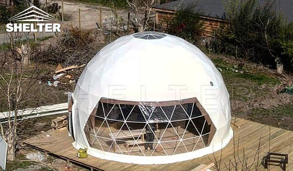 Dome Shaped Tent Revolutionize The Hospitality Industry