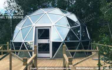 Glass Dome Data - Geodesic Dome - Glass Dome Tent - Polycarbonate Dome - Portable Domes - Glass Igloo - Sphere Tent - Glass Domes for Sale - Shelter Dome (13)