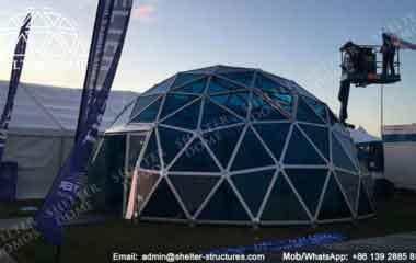PC Dome Data - Geodesic Dome - Glass Dome Tent - Polycarbonate Dome - Portable Domes - Glass Igloo - Sphere Tent - Glass Domes for Sale - Shelter Dome (34)