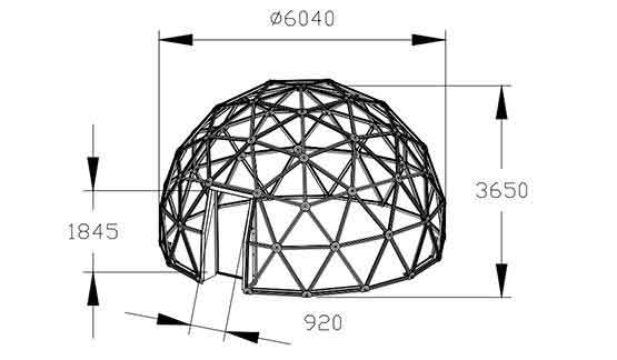 shelter-dome-glass-dome-geodesic-dome-dome-tents-for-sale-6m-glass-dome