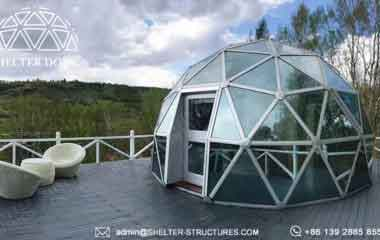 Dia 10m Geodesic Dome Home Living Dome For Sale