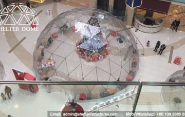 Party Dome Tent - Geodesic Dome - Geodesic Dome Tent for Sale - Dome Frame - Fabric Dome Structures - Party Dome - Clear Dome Tent - Transparent Dome Tent - 12m Dome - Shelter Dome