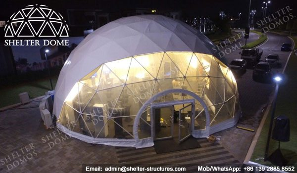 Dome Malaysia - Geodesic Dome - Geodesic Dome Tent - Geodesic Structure - Geodesic Dome Construction - Fabric Dome - PVC Dome - Catering Dome - 15m Dome - Shelter Dome (5)