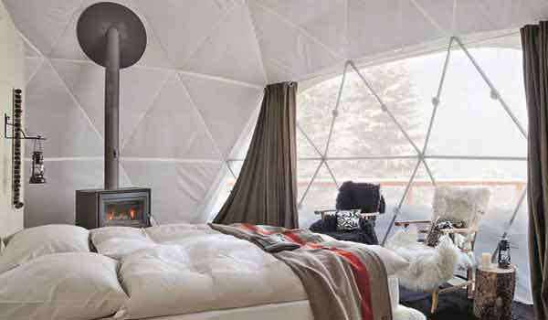 Eco Living Dome - Geodesic Dome Insulation - Shelter Dome 1