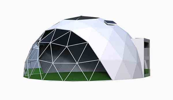 Eco Living Dome - Geodesic Dome Ventilation - Shelter Dome (1)