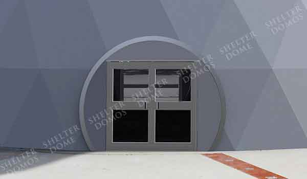 Eco Living Dome - Geodesic Dome with Zip Door - Shelter Dome (1)