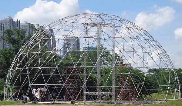 Eco Living Dome - Shelter Dome 4