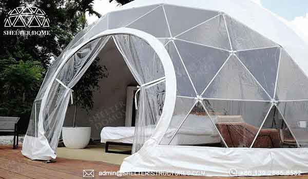 Eco living dome accessories - glamping dome house for sale