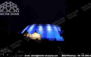 Portable Geodesic Dome - Geodesic Dome - Geodesic Dome Tent - Event Dome - Projection Dome - Portable Dome Tent - Big Dome Tent - Dome Tent for Sale - Sphere Tent - 30m Dome - Shelter Dome (23)