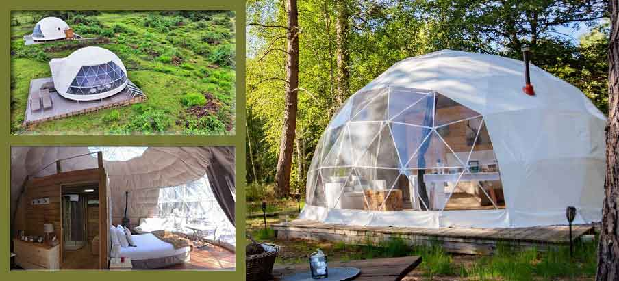 Shelter-Eco-Living-Dome---Dwell-Dome-pod-for-airbnb---glamping-geodome-for-sale-2
