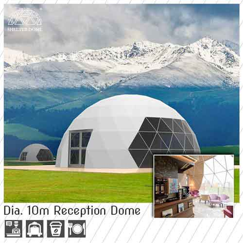 dia 10m reception dome for sale - catering dome hall
