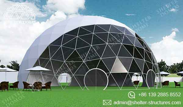 Event Domes - 18m Geodesic Domes for Events - Shelter Dome