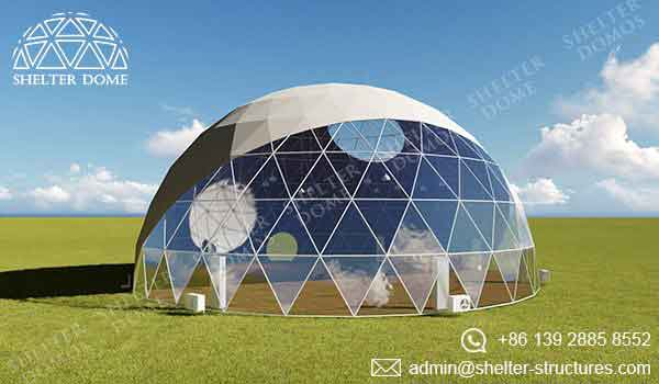 Event Domes - 20m Geodesic Domes for Events - Shelter Dome