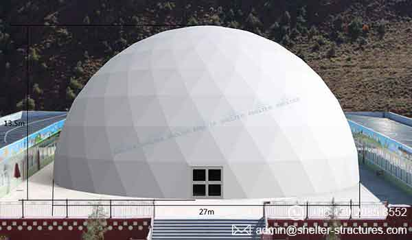 Event Domes - 27m Geodesic Domes for Events - Shelter Dome