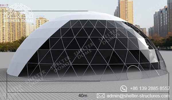 Event Domes - 40m Geodesic Domes for Events - Shelter Dome